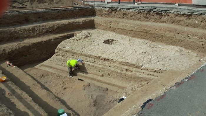 Reggio Calabria scavi piazza garibaldi