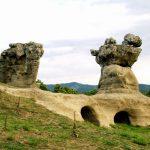 I Giganti di Pietra di Campana, casualità geologiche