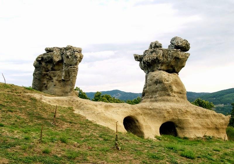 giganti di pietra campana