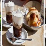 La granita al caffè con panna e brioche