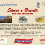 Agroalimentare, a Sandrigo in luce la tradizione dello stoccafisso