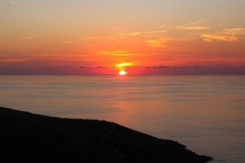 calabria tramonto