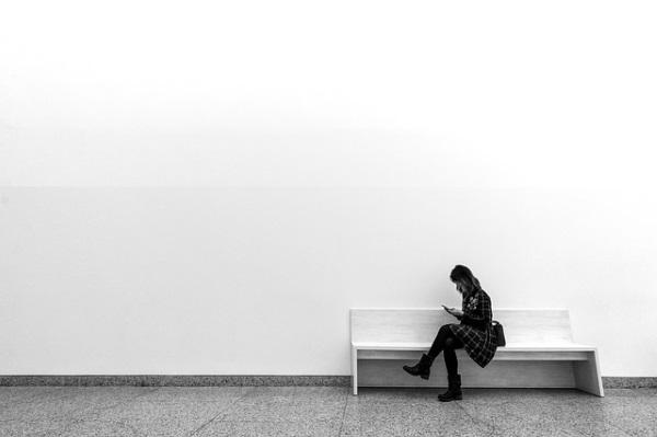 donna al museo